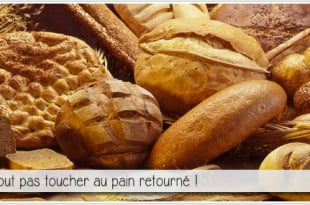 photo de miches de pain pour illustrer l'article PCPL sur la superstition du pain retourné, le pain du bourreau