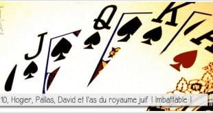 quinte flush royale pour illustrer l'article par ci par là PCPL qui révèle qui sont les figures rois, reine et valets des jeux de cartes à jouer