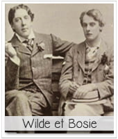 photo de oscar wilde et bosie pour illustrer l'article PCPL dédié à la tombe de wilde au père lachaise
