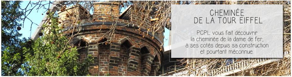 perspective de la tour eiffel pour illustrer l'article par ci par là PCPL dédié à la cheminée de la Tour Eiffel à Paris
