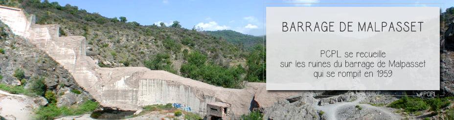 Site de m moire les ruines du barrage de malpasset - Office du tourisme frejus saint raphael ...