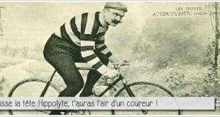photo de hippolyte aucouturier arrivé deuxième au tour de france 1904 derrière Maurice Garin pour illustrer l'article par ci par la PCPL dédié a la triche sur le 2ème tour de france