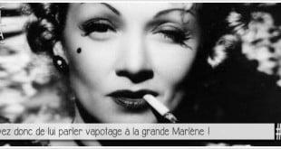 marlène dietrich fumant une cigarette pour illustrer l'article pcpl par ci par la sur la tabac