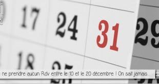 vignette d'un calendrier pour illustrer l'article traitant du passage du calendrier julien au calendrier Gregorien qui fit disparaitre 10 jours en decembre 1582