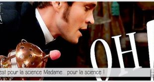 affiche de oh my god pour illustrer l'article parciparla.fr dédié au traitement de l'hysérie par la masturbation et les vibromasseur inventé par Mortimer