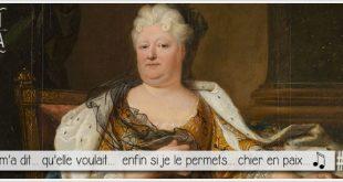 portrait de elisabeth charlotte princesse palatine pour illustrer l'article parciparla.fr dédié à sa lettre je voudrais chier