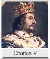 portrait de Charles V le sage pour l'article PCPL dédié à la mort de bertrand du guesclin