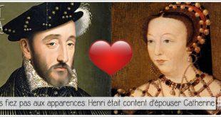 portraits de catherine de medicis et henri II pour illustrer l'article parciparla.fr dédié a leur vie sexuelle monotone prescrite par Fernel