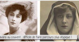 double portrait de Liane de Pougy cocotte devenue bonne soeur