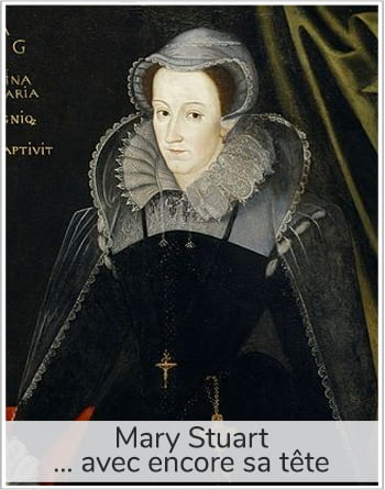 portrait de Mary Stuart pour illustrer l'article PCPL sur la forme de la lame de la guillotine